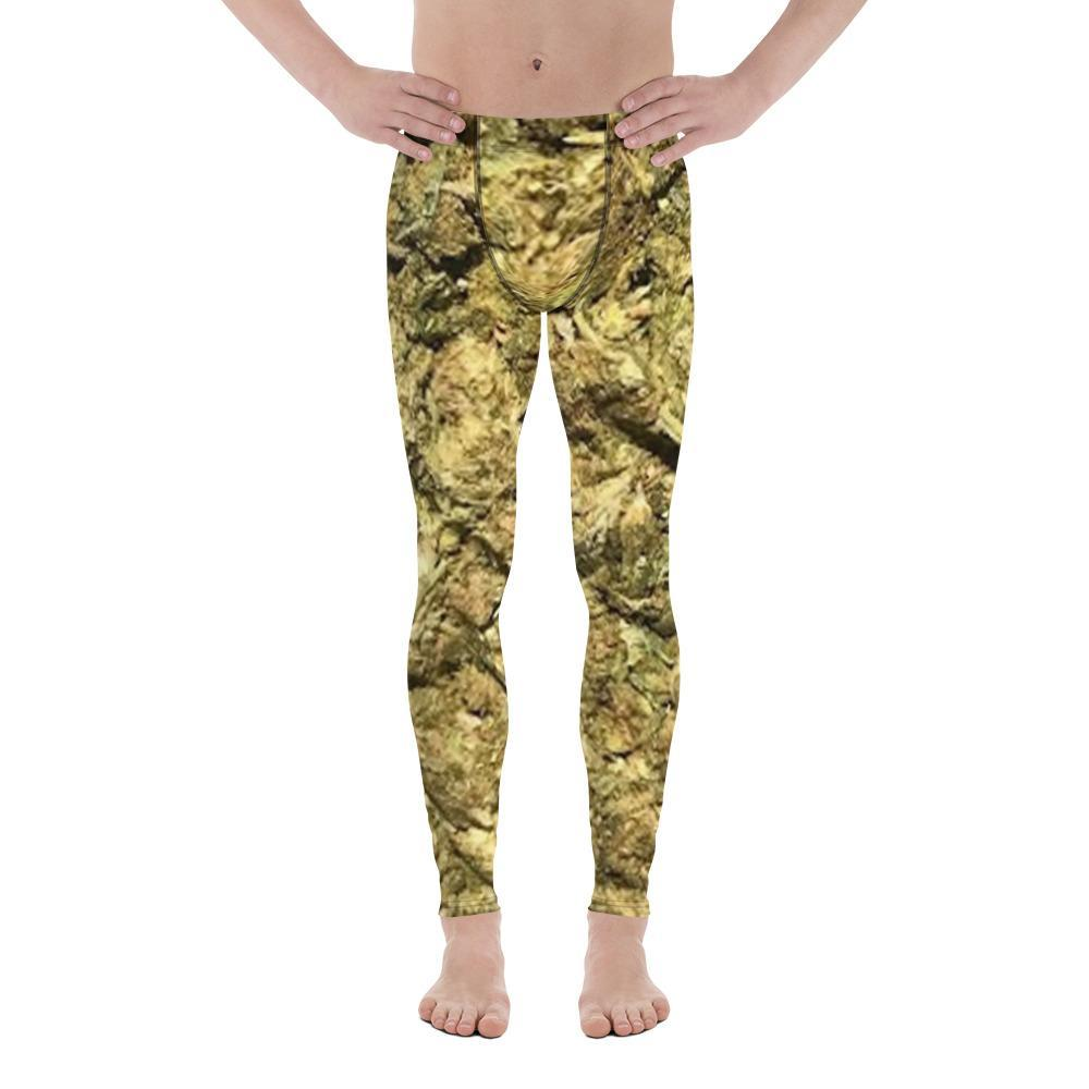 Polly & Crackers Men's Leggings XS Brick Weed - Men's Leggings