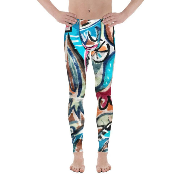 Bus Fabric - Men's Leggings - Polly and Crackers