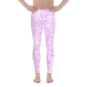 Polly & Crackers Men's Leggings XS Electric Squigs - Men's Leggings