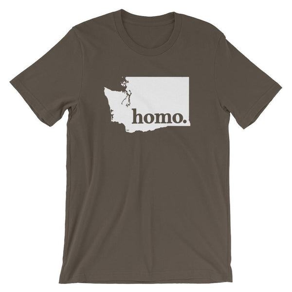 Homo State Shirt - Washington - Polly and Crackers