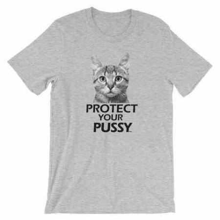 Polly & Crackers Shirt Athletic Heather / S Protect Your Pussy - Shirt