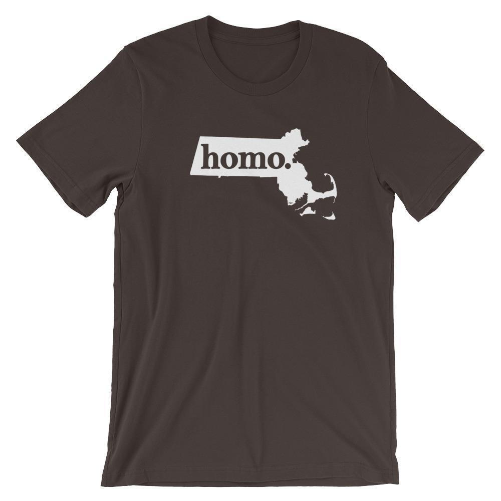 Homo State Shirt - Massachusetts - Polly and Crackers