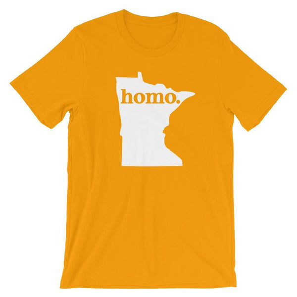 Polly & Crackers Shirt Gold / S Homo State Shirt - Minnesota