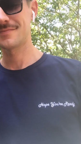 Hope You're Ready - Embroidered Shirt - Polly and Crackers