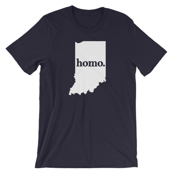 Homo State Shirt - Indiana - Polly and Crackers