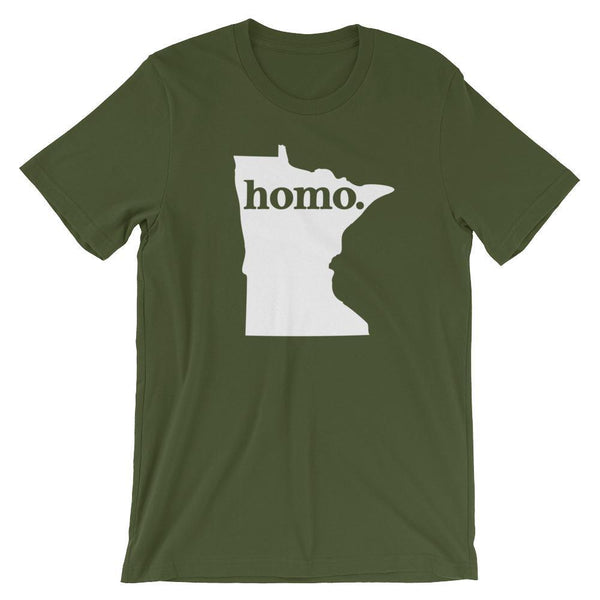 Polly & Crackers Shirt Olive / S Homo State Shirt - Minnesota