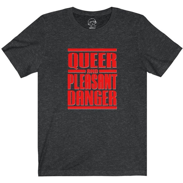 Queer & Pleasant Danger , T-Shirt , Polly & Crackers Apparel
