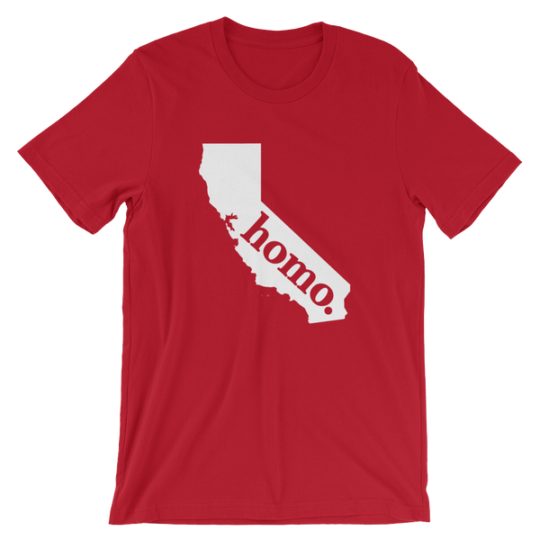 Homo State Shirt - California - Polly and Crackers