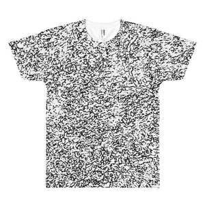 Polly & Crackers Shirt XS Black Squigs - Sublimation Shirt