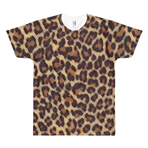 Cheetah - Sublimation Shirt - Polly and Crackers