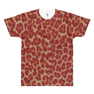 Red Cheetah - Sublimation Shirt