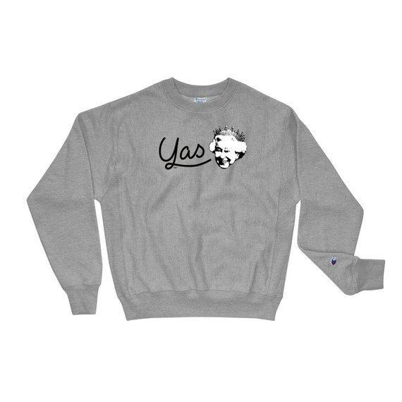 Yas Queen - Champion Sweatshirt