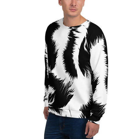 Snow Tiger - Unisex Sublimation Sweatshirt