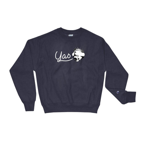 Yas Queen - Champion Sweatshirt ,  , Polly & Crackers Apparel