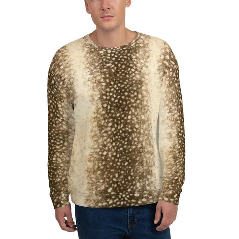 Spotted Leopard - Unisex Sublimation Sweatshirt