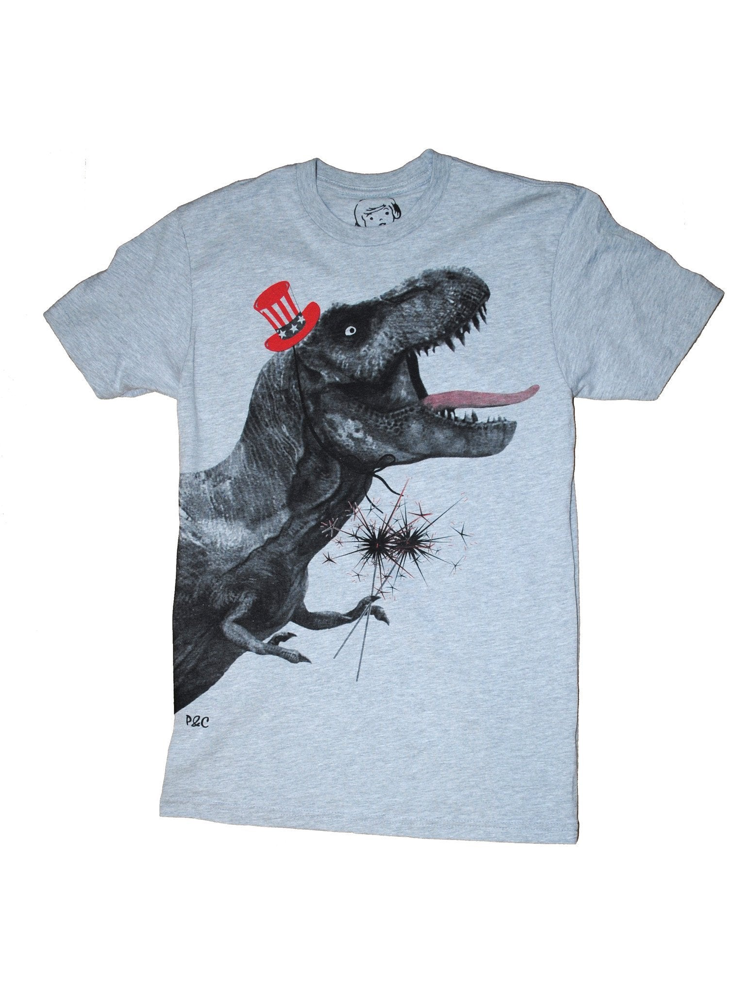 Par-Ty Rex , T-Shirt , Polly & Crackers Apparel