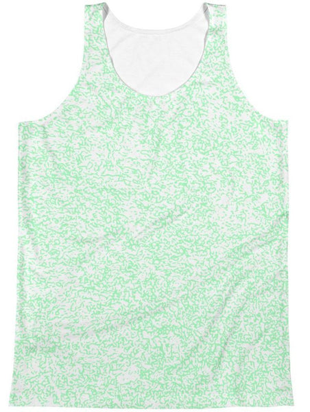 Polly & Crackers Tank Green Squigs - Sublimation Tank