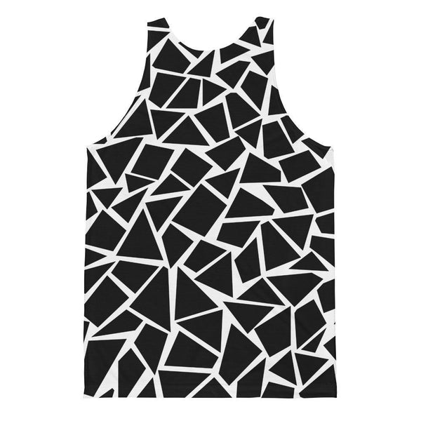 Polly & Crackers Tank Top Black Slate - Sublimation Tank