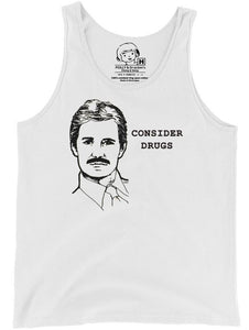 Polly & Crackers Tank Top Consider Drugs - Tank Top