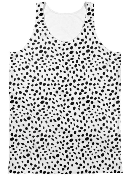 Dalmatian - Sublimation Tank Top - Polly and Crackers