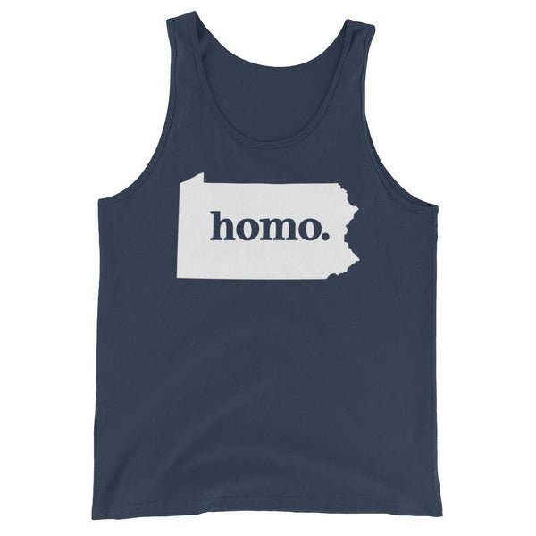 Homo State Tank Top - Pennsylvania - Polly and Crackers