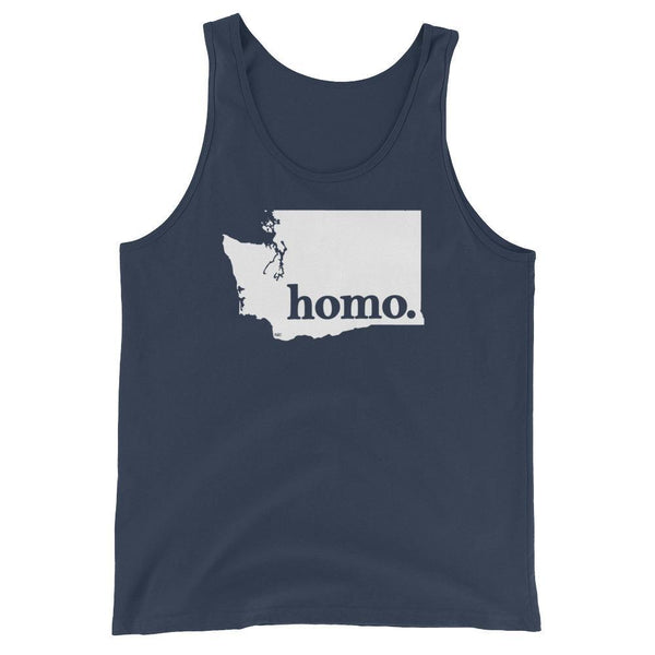 Homo State Tank Top - Washington - Polly and Crackers