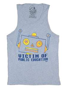 Victimized - Men's Tank , Tank Top , Polly & Crackers Apparel
