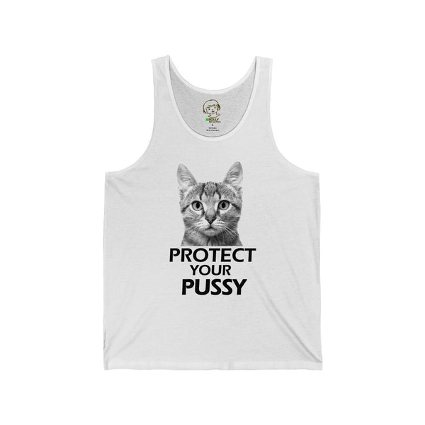 Protect Your Pussy - Tank Top , Tank Top , Polly & Crackers Apparel