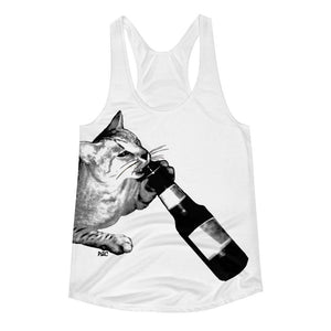 Polly & Crackers Tank Top XS Cataholic - Women's Racerback Tank