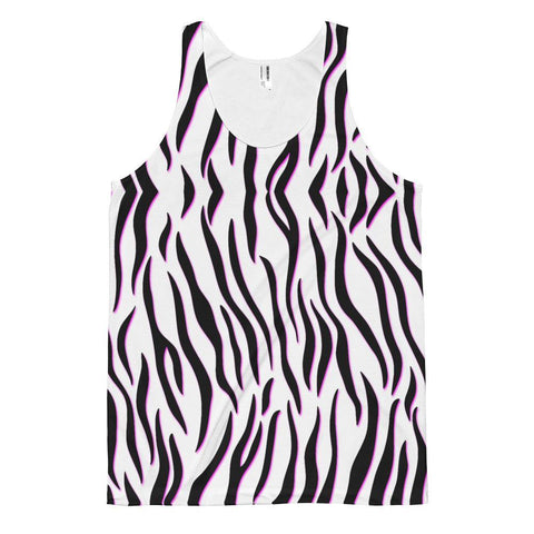 Electrified Zebra - Sublimation Tank - Polly and Crackers