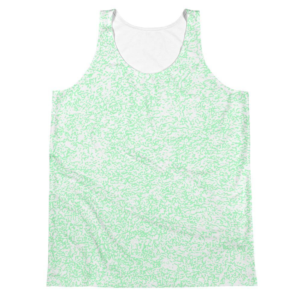 Polly & Crackers Tank XS Green Squigs - Sublimation Tank
