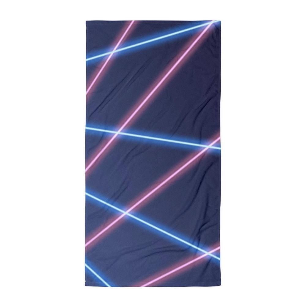 Retro Laser Beam Towel 💋