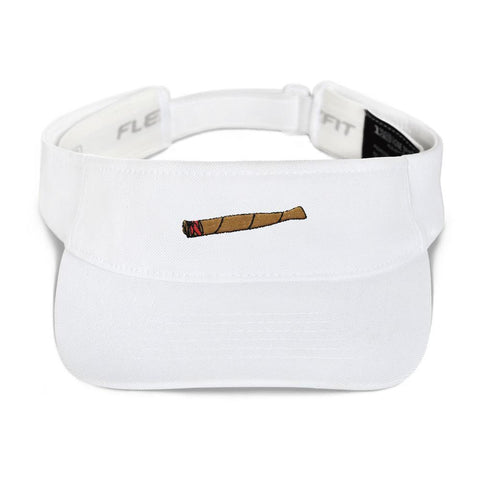 Polly & Crackers Visor White Blunt Life - Visor