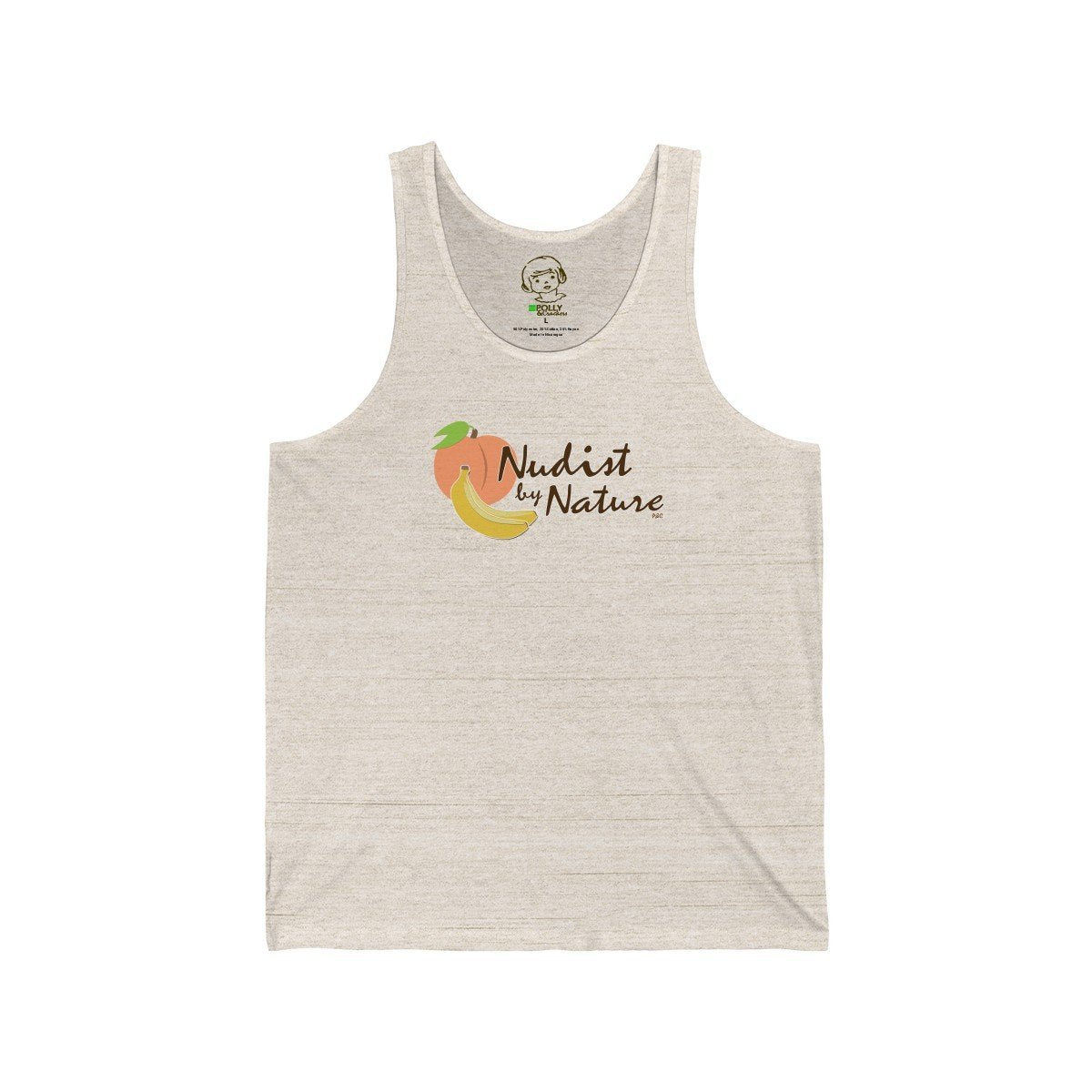 Nudist by Nature - Tank Top , Tank Top , Polly & Crackers Apparel