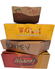 Custom Printed Take Out Boxes