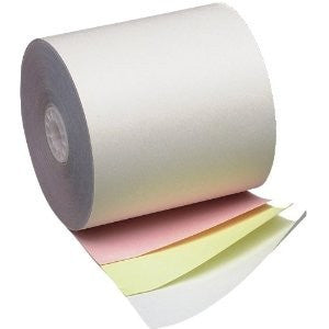 "3"" x 3"" 3-ply White/Canary/Pink, 50/case - C-PAC"