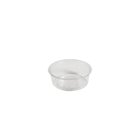 Eco-Packaging Compostable Clear Portion Condiment Cups 2oz, Case of 2000