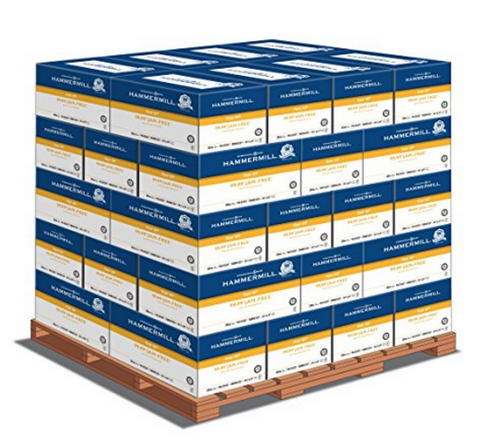 Hammermill Premium Multi-Purpose, 8.5 x 11 20lb 97 Bright, 1 Pallet (80 cases per pallet, 5 reams per case)