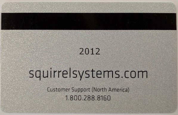 Squirrel POS User Magnetic Swipe Cards, 10/pack - C-PAC - 1