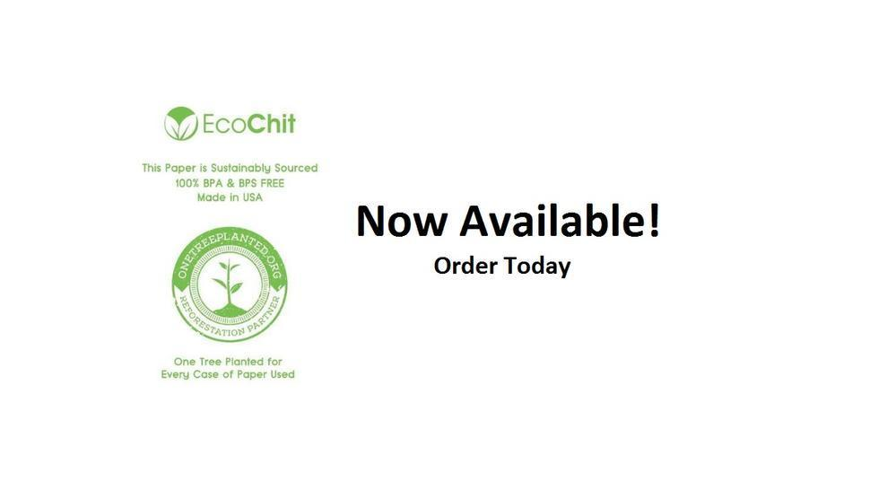 EcoChit Sustainable Thermal Rolls