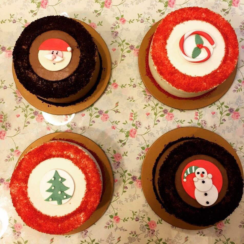 Christmas Themed Cakes Pictures.Christmas Themed Cakes