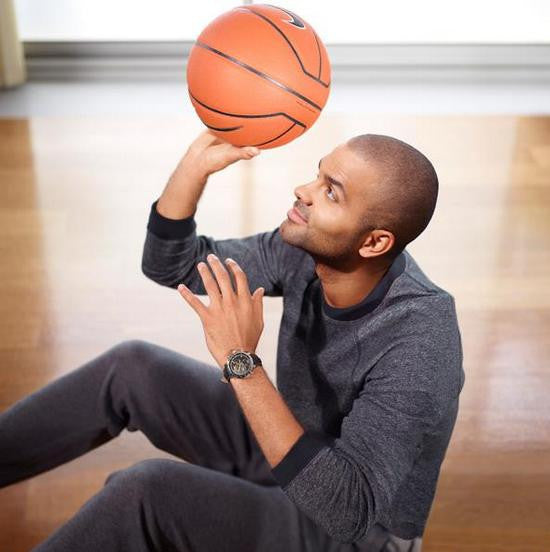 Tony Parker and Tissot - Arnik Jewellers