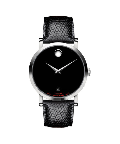 Movado Men's Red Label Automatic Watch, 38 mm Stainless Steel 0606114 - Arnik Jewellers