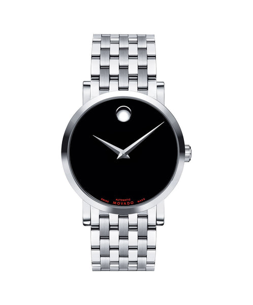 Movado Men's Red Label Automatic Watch, 42 mm Stainless Steel 0606115 - Arnik Jewellers