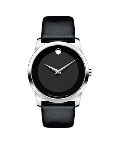 Movado Men's Museum Classic Watch, 40 mm Stainless Steel 0606502 - Arnik Jewellers