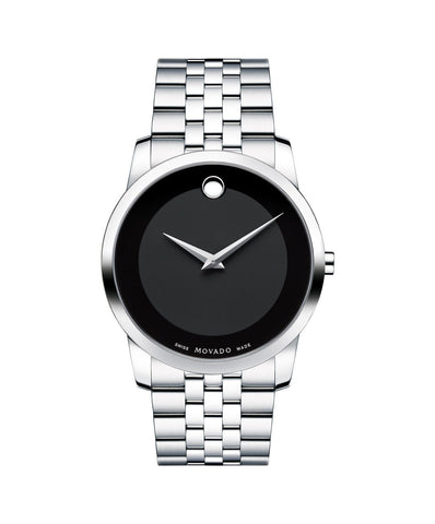 Movado Men's Museum Classic Watch, 40 mm Stainless Steel 0606504 - Arnik Jewellers
