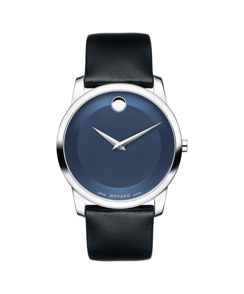 Movado Men's Museum Classic Watch, 40 mm Stainless Steel 0606610 - Arnik Jewellers
