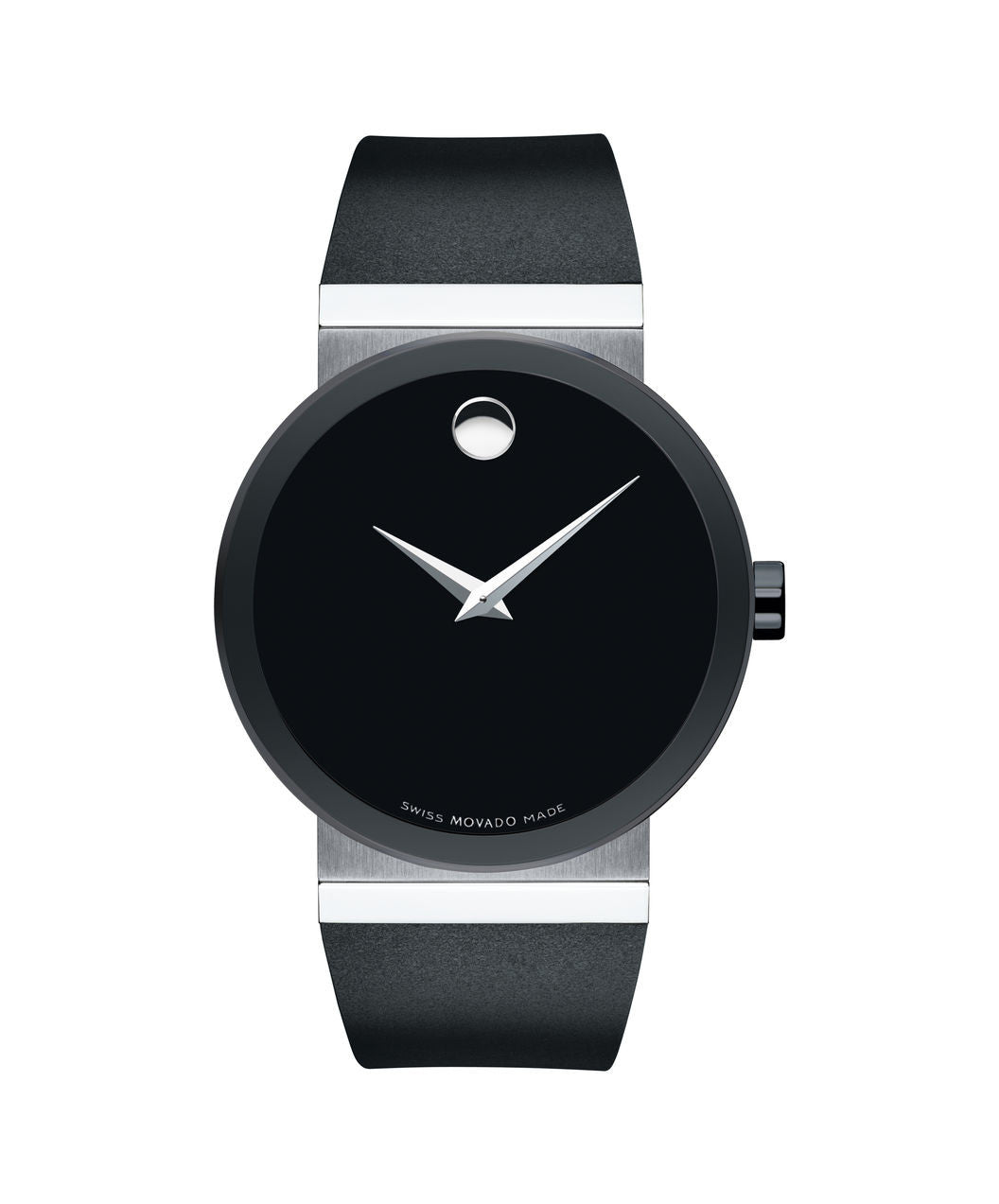Movado Men's Sapphire Synergy Watch, 42 mm Black PVD-Finished and Stainless Steel Bezel-Free 0606780 - Arnik Jewellers