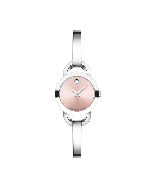 Movado Women's Rondiro Watch, 22 mm Stainless Steel with Open Semicircular Lugs 0606797 - Arnik Jewellers