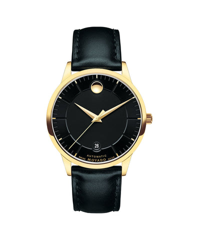 Movado Men's 1881 Automatic Watch, 39.5 mm Yellow Gold PVD-Finished Stainless Steel 0606875 - Arnik Jewellers